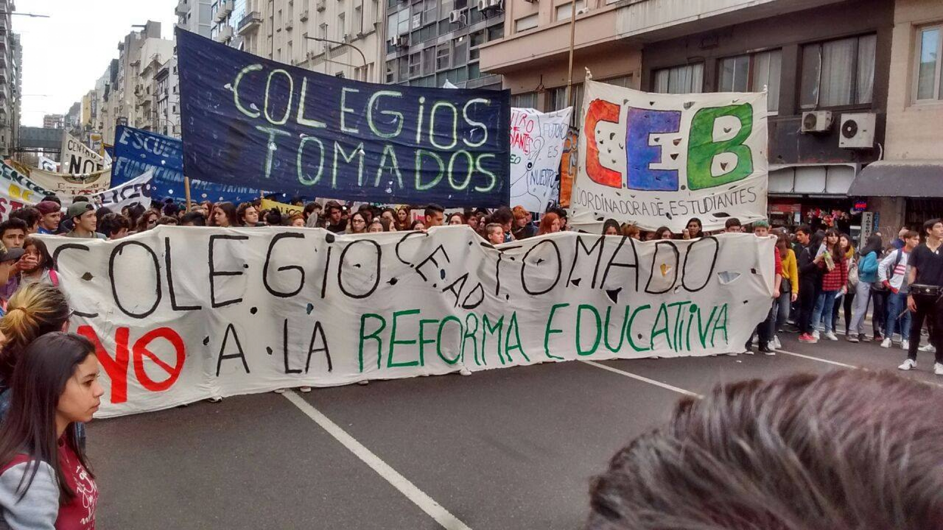 No a la Reforma Educativa
